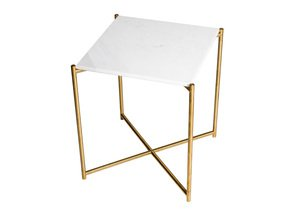 Iris-Square-Side-Table-White-Marble-With-Brass-Frame_Gillmore-Space-Limited_Treniq_0