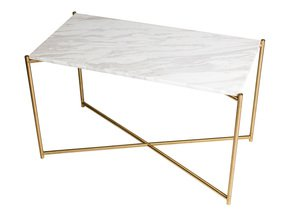Iris-Rectangle-Side-Table-White-Marble-With-Brass-Frame_Gillmore-Space-Limited_Treniq_0