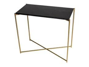 Iris-Small-Console-Table-Black-Marble-With-Brass-Frame_Gillmore-Space-Limited_Treniq_0