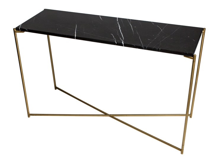 Iris large console table black marble with brass frame gillmorespace limited treniq 1 1513594744439