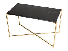 Iris-Rectangle-Side-Table-Black-Marble-With-Brass-Frame_Gillmore-Space-Limited_Treniq_0