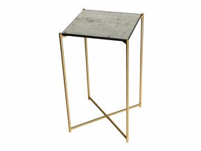 Iris-Square-Plant-Stand-Antiqued-Glass-With-Brass-Frame_Gillmore-Space-Limited_Treniq_0