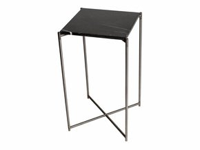Iris-Square-Plant-Stand-Black-Marble-With-Gun-Metal-Frame_Gillmore-Space-Limited_Treniq_0