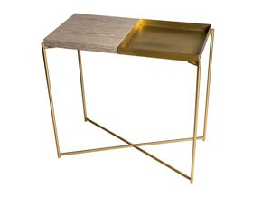 Iris-Small-Console-Table-Weathered-Oak-Top-&-Brass-Tray-With-Brass-Frame_Gillmore-Space-Limited_Treniq_0