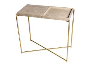 Iris-Small-Console-Table-Weathered-Oak-Top-&-Tray-With-Brass-Frame_Gillmore-Space-Limited_Treniq_0