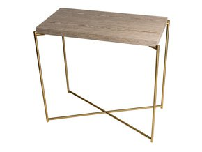 Iris-Small-Console-Table-Weathered-Oak-With-Brass-Frame_Gillmore-Space-Limited_Treniq_0