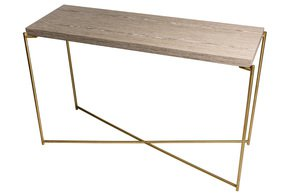 Iris-Large-Console-Table-Weathered-Oak-With-Brass-Frame_Gillmore-Space-Limited_Treniq_0