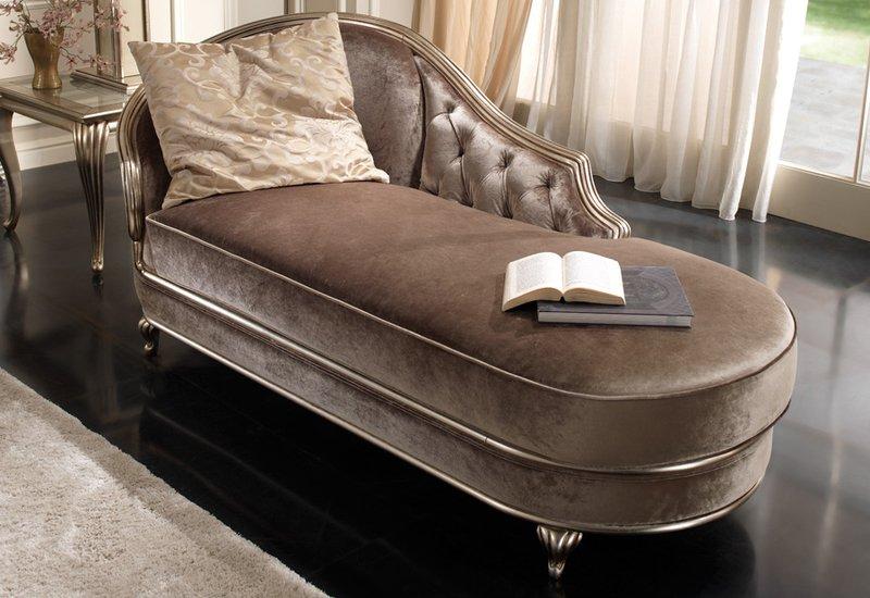 Eden chaise longue gold confort treniq 2