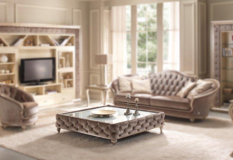 Eden coffee table gold confort treniq 1