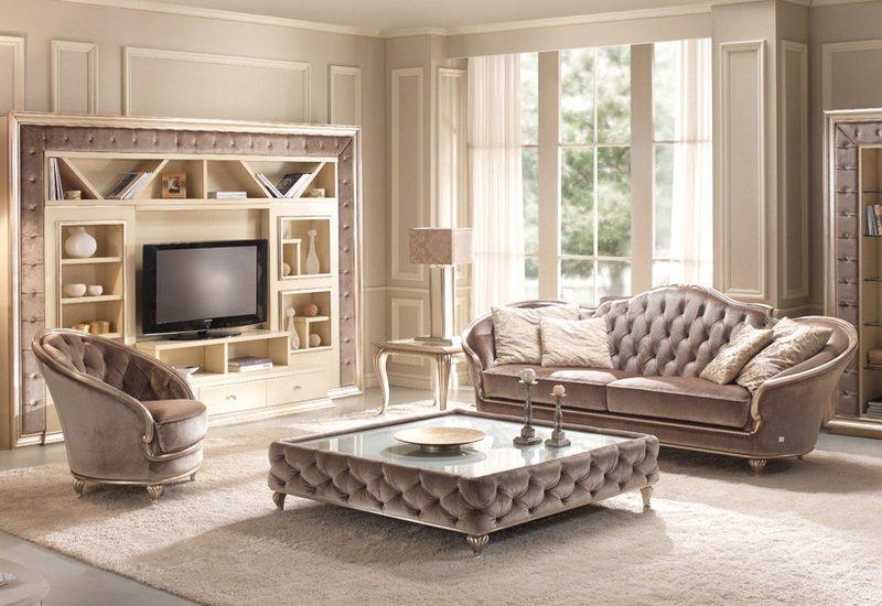 Eden coffee table gold confort treniq 2