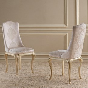 Eden Dining Chair - Gold Confort - Treniq