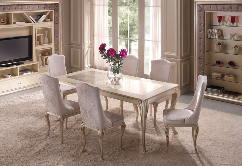 Eden dining chair gold confort treniq 6