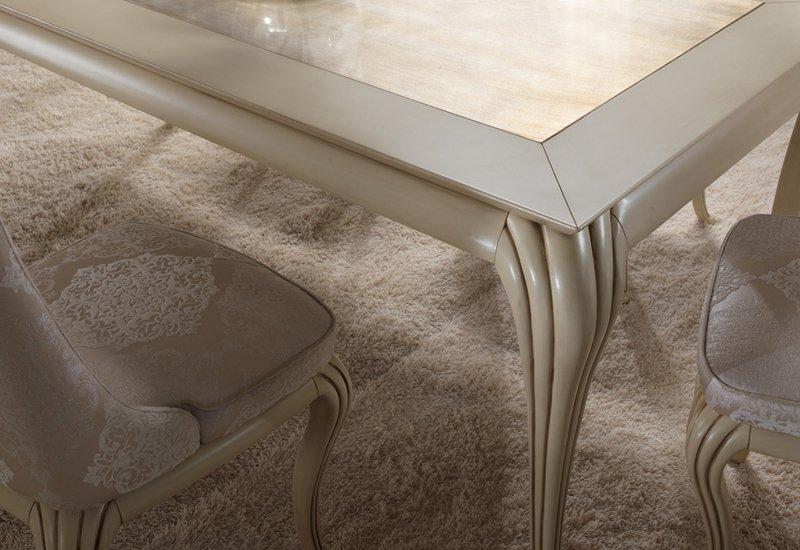 Eden dining table gold confort treniq 3