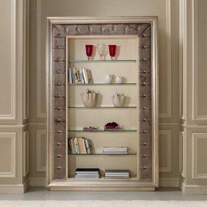 Eden Library Stand - Gold Confort - Treniq