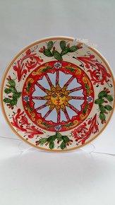 Dinner-Plate-Sicily-Sun_Ceramiche-Siciliane-Ruggeri-Srl_Treniq_0