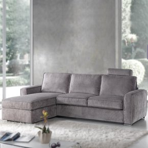 Glamour 3 Seat Sofa - Gold Confort - Treniq