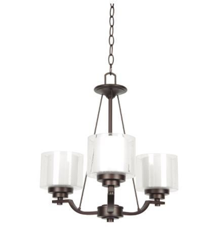 Abbot three light chandelier tl custom lighting treniq 1 1514334091006