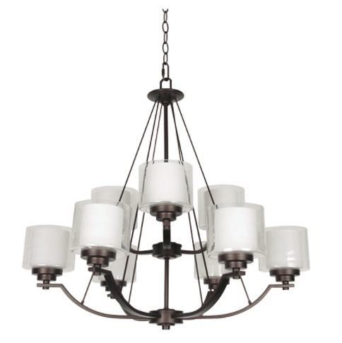 Abbot nine light 2 tier chandelier tl custom lighting treniq 1 1514334682569