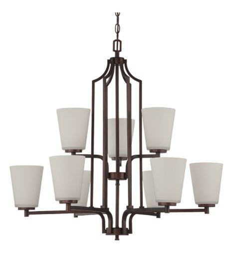 Brighton nine light 2 tier chandelier tl custom lighting treniq 1 1514335310435