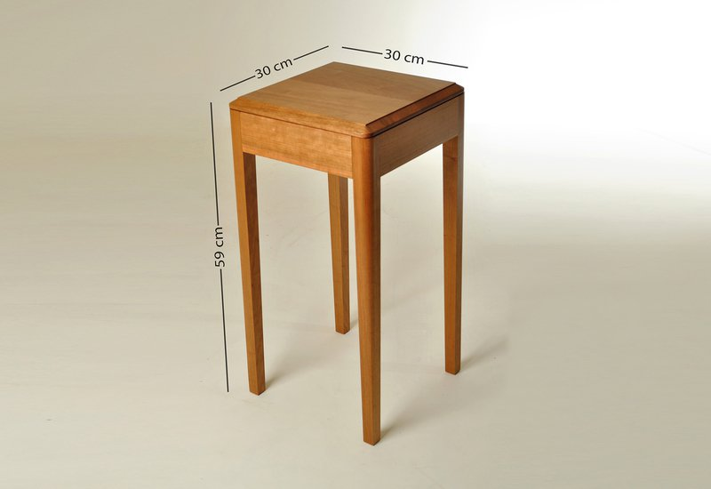 Cherry wood side table kung mana tongmee 6