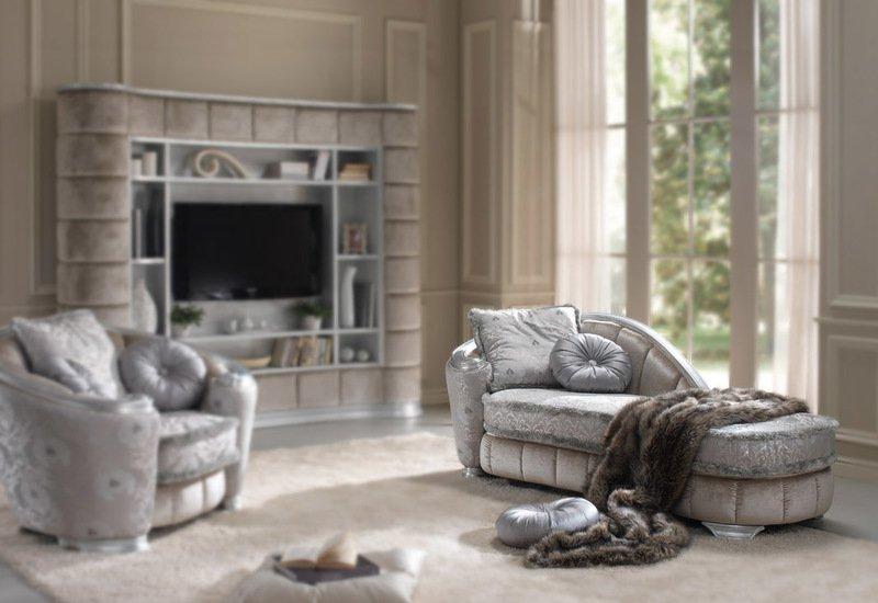 Glamour chaise longue gold confort treniq 00