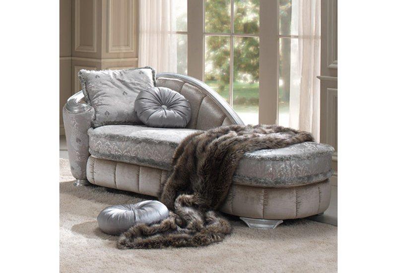 Glamour chaise longue gold confort treniq 1