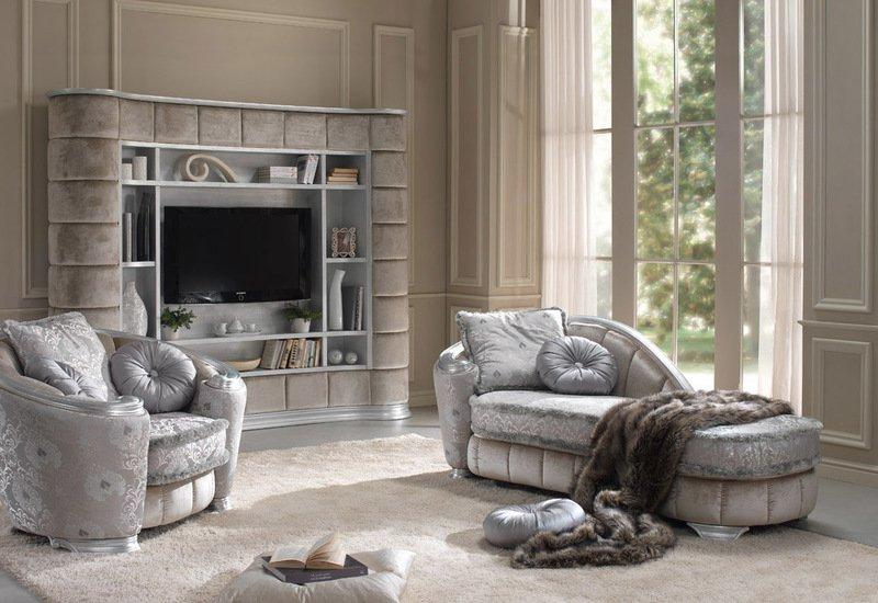 Glamour chaise longue gold confort treniq 2