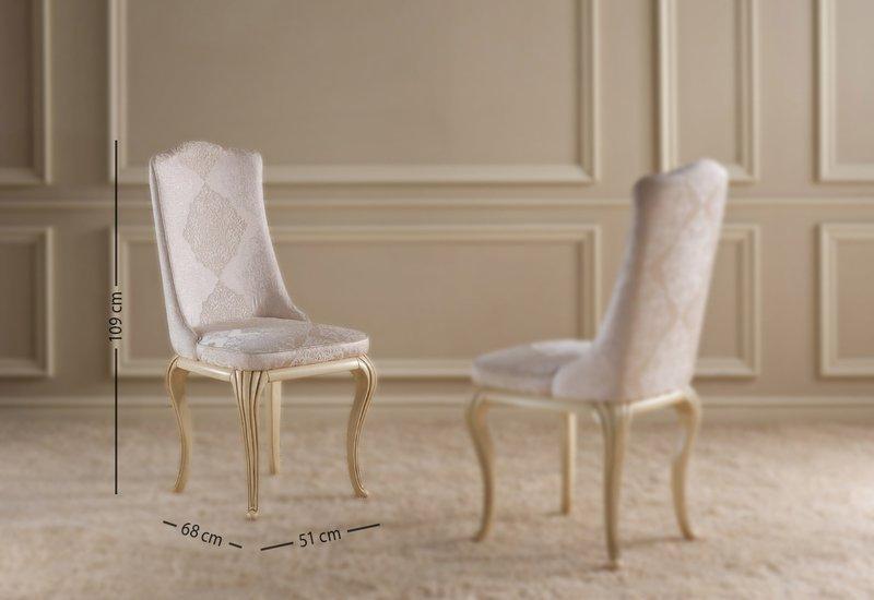 Eden dining chair gold confort treniq 7