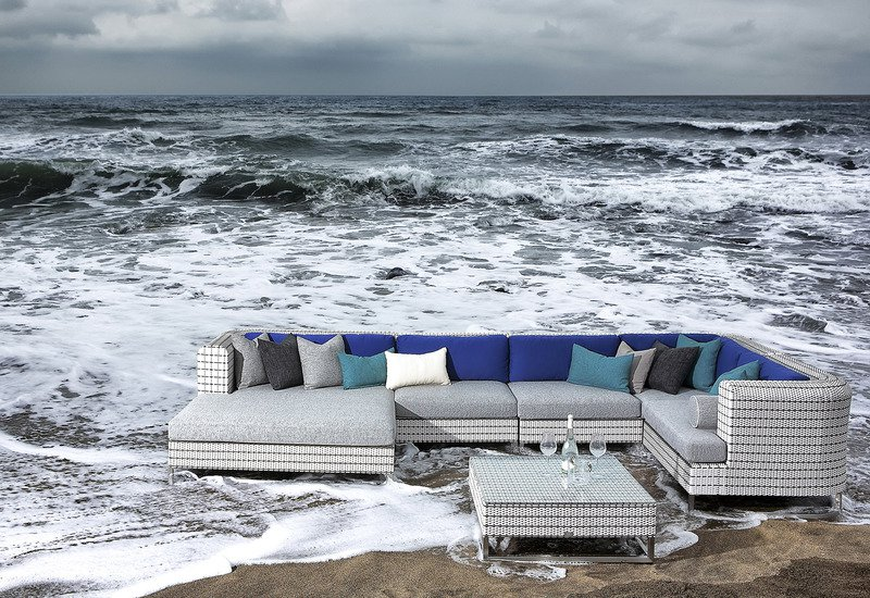 Mix weaving corner sofa seven oceans designs treniq 4