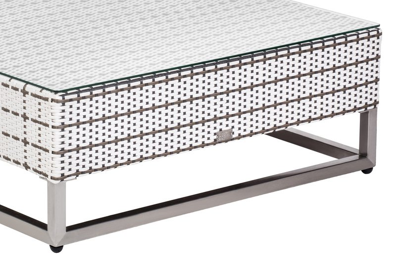 Mix weaving coffee table seven oceans designs treniq 4