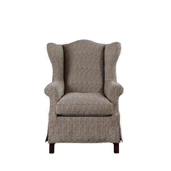 Classic wingback armchair jess latimer treniq 1 1515765305424