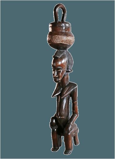Traditional baule peau statue large avana africa treniq 1 1515838395216