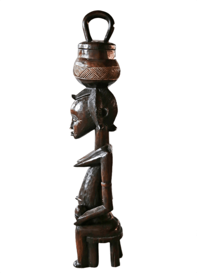 Traditional baule peau statue large avana africa treniq 1 1515838395236