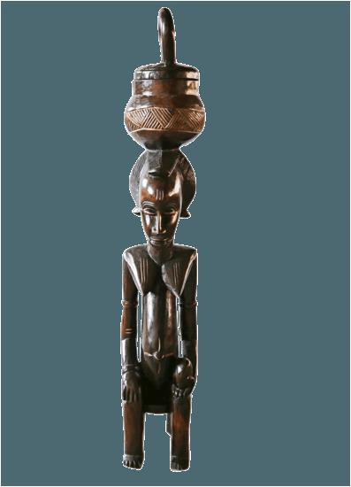 Traditional baule peau statue large avana africa treniq 1 1515838395247