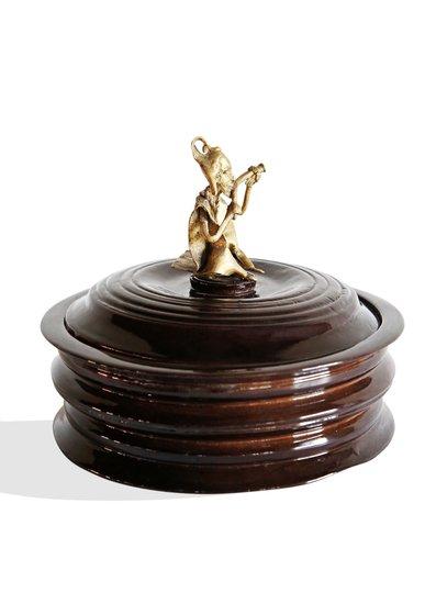 Black bread box with bronze man handle avana africa treniq 1 1515839082249