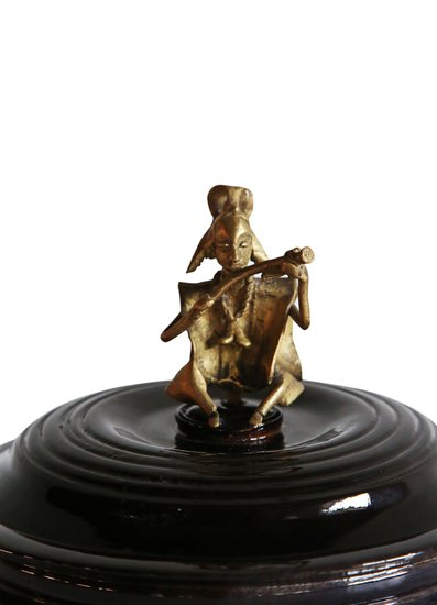 Black bread box with bronze man handle avana africa treniq 1 1515839082245