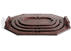 Touareg-Set-Of-4-Trays-Dark-Mahogany_Avana-Africa_Treniq_0