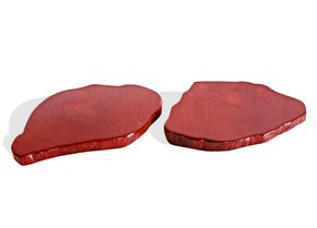 Pair-Of-Mahogany-Colored-Acajou-Coasters_Avana-Africa_Treniq_0