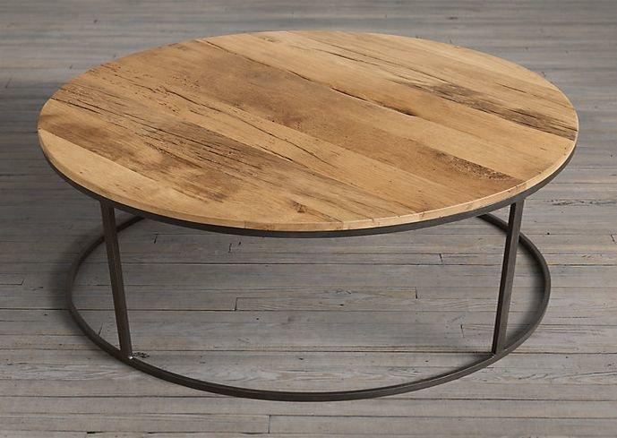 Reclaimed wood round coffee table  shakunt impex pvt. ltd. treniq 2 1516172773890