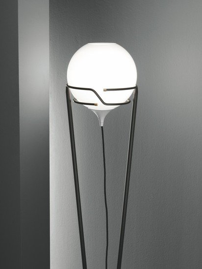 Up floor lamp burnished with murano glass and dedicated led lightsource younique plus treniq 1 1516182675239