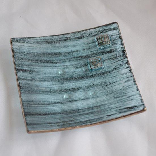 Bowl green with oldplatinum 12x12 shallow arteglass treniq 6 1516293627542