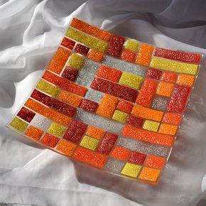 Bowl-Orange-Yellow-Red-30x30-Shallow_Arte-Glass_Treniq_0