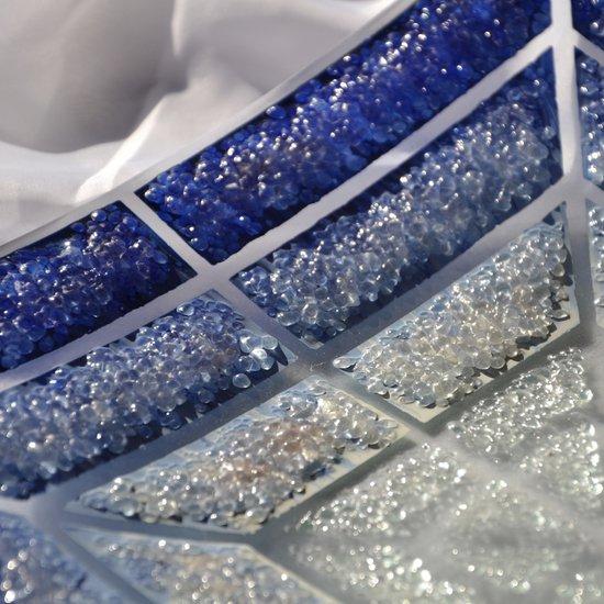 Bowl blue white 30x30 shallow arteglass treniq 6 1516294096326