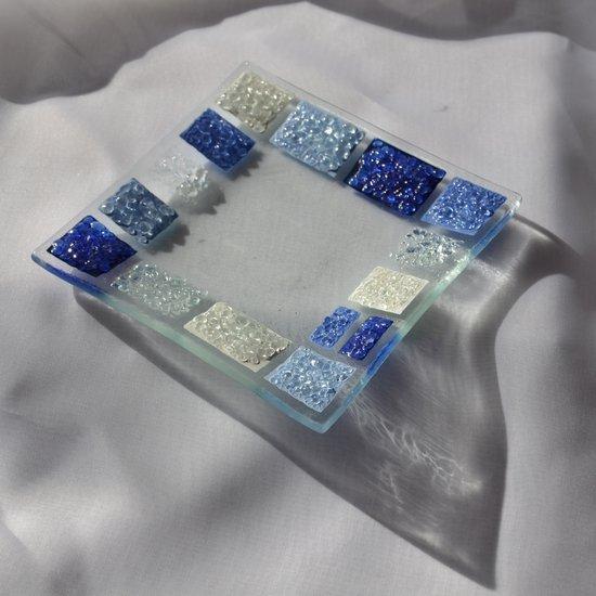 Bowl blue white 12x12 plate arteglass treniq 6 1516294157039