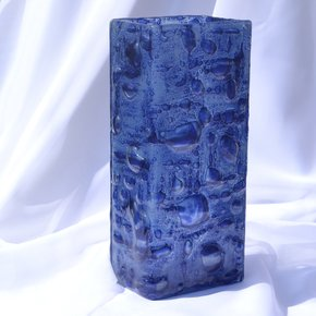 Vase-Dark-Blue-30-Cm-Square_Arte-Glass_Treniq_0
