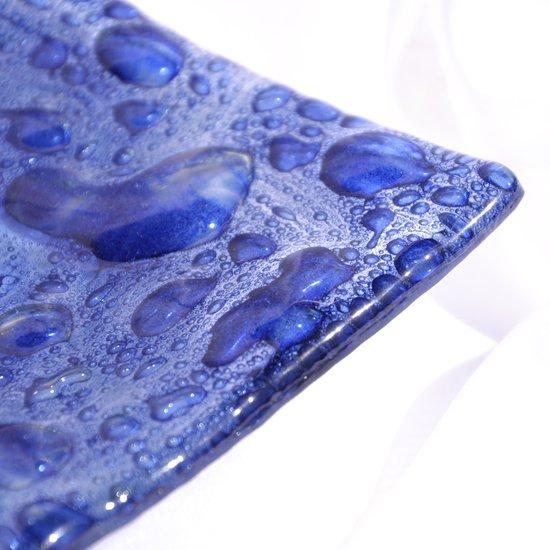 Bowl dark blue 20x20 shallow arteglass treniq 6 1516295384630