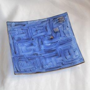 Bowl-Dark-Blue-With-Oldplatinum-20x20-Shallow_Arte-Glass_Treniq_0