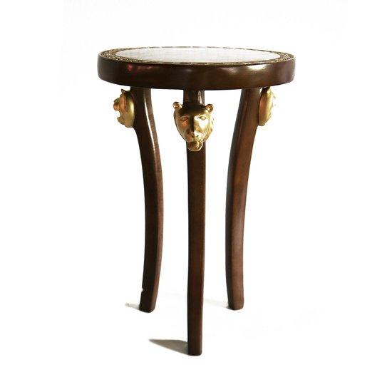 3 legged lion head table avana africa treniq 1 1516362650002