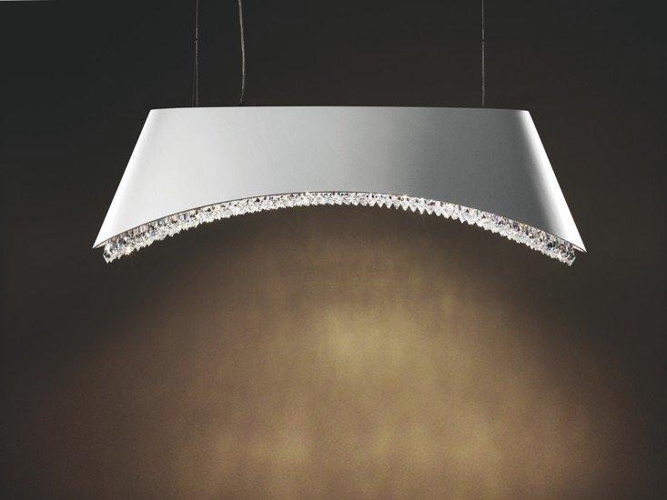 Dolcevita 1100 white pendant lamp swarowski crystals remote control younique plus treniq 1 1516381059435
