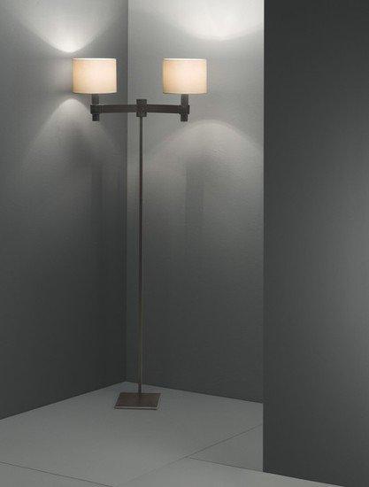 Ginevra classic flat shade burnished floor lamp younique plus treniq 1 1516614396063